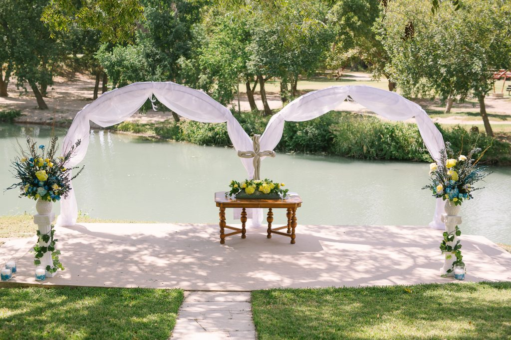 Riverside Wedding : Texas Wedding : Monica Roberts Photography : Zedler's Mill : Pink Parasol Designs and Coordinating