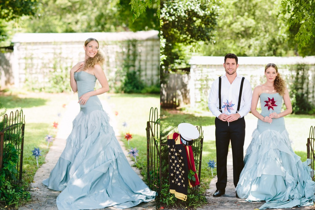 Patriotic Wedding : Al Gawlik Photography : Pink Parasol Designs and Coordinating : Carrington Crossing : Tara LaTour